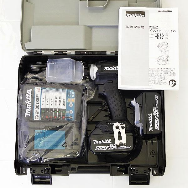 makita マキタ 充電式インパクトドライバ TD171DRGXB